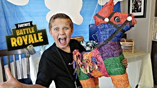 Download Fortnite Birthday Party!! Present Opening🎁 Video