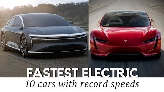 Download 10 Fastest All-Electric Cars That Exist in 2018 (Including New Tesla Roadster) Video