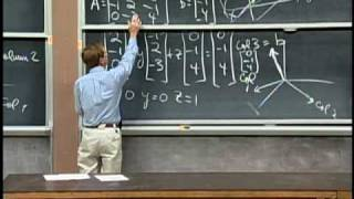Download Lec 1 | MIT 18.06 Linear Algebra, Spring 2005 Video