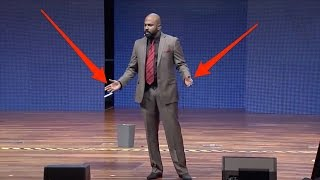 Download 4 essential body language tips from a world champion public speaker Video