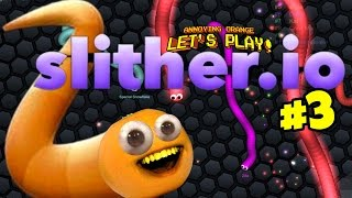Download Annoying Orange - Slither.io #3: Buggy Eyes! Video