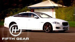 Download Mercedes S63 AMG vs Jaguar XJR: Part Two - Fifth Gear Video