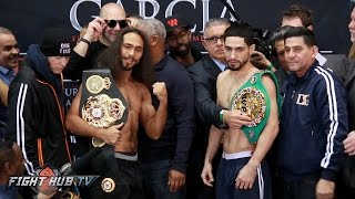 Download Keith Thurman vs. Danny Garcia COMPLETE WEIGH IN & FACE OFF video Video