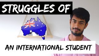 Download 4 STRUGGLES of EVERY International Student | Life in Australia Video