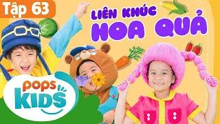Download 🍅🌶🍊Mầm Chồi Lá Tập 63 - Liên Khúc Hoa Quả | Nhạc Thiếu Nhi Cho Bé | Vietnamese Songs For Kids Video