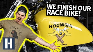 Download It's Alive!! Finishing Our Flat Tracker Race Bike for X Games Qualifying Video