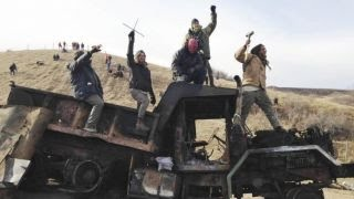 Download Dakota Access Pipeline protest turns violent Video