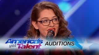 Download Mandy Harvey: Deaf Singer Earns Simon's Golden Buzzer With Original Song - America's Got Talent 2017 Video