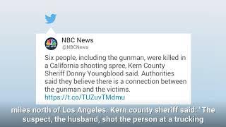 Download California Rampage: Gunman kills 5, self Video