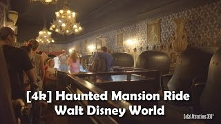 Download [4K] Haunted Mansion Ride 2016 - Walt Disney World - Magic Kingdom - Extreme Low Light POV Video