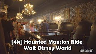 Download [4K] Haunted Mansion Ride 2016 - Walt Disney World - Magic Kingdom - Extreme Low Light POV Video