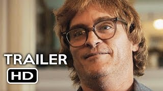 Download Don't Worry, He Won't Get Far on Foot Official Trailer #1 (2018) Joaquin Phoenix Biography Movie HD Video