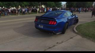 Download Mustang GT350 crash coffee and cars Houston 4K 10/1/16 Video