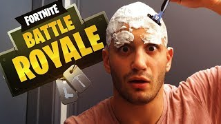 Download High Stakes Fortnite: Loser SHAVES HEAD & EYEBROWS Video