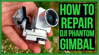 Download DJI Phantom 3 Broken Gimbal Repair After Crash #Drone Video