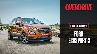 Download Ford EcoSport S EcoBoost | First Drive Review | OVERDRIVE Video