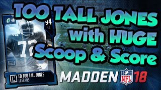 Download Madden 18 Ultimate Team :: Scoop And Score By Ed ″ Too Tall ″ Jones! :: Madden 18 Ultimate Team Video
