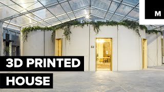 Download It Took Around 45 Hours Of 3D Printing To Build This 1,076 Square-Foot House Video