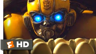 Download Bumblebee (2018) - The Egg Prank Scene (4/10) | Movieclips Video