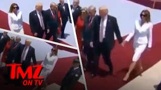 Download Melania Trump Gives The Presidents Hand A Slap | TMZ TV Video
