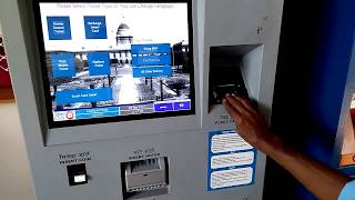 Download Train Ticket or Platform Ticket from Cash or Smart Card Operated Ticketing Kiosk at Railway Stations Video