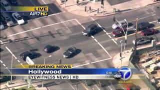 Download Los Angeles police chase car jacker Video