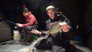 Download Nighttime Ice Fishing Disaster! Video