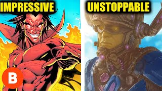 Download 10 Marvel Villains Who Are Stronger Than Thanos Ranked From Impressive To Unstoppable Video