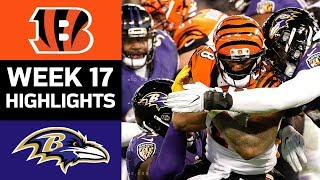 Download Bengals vs. Ravens | NFL Week 17 Game Highlights Video