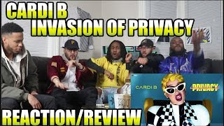 Download CARDI B - INVASION OF PRIVACY (FULL ALBUM) REACTION/REVIEW Video