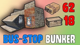 Download NEW Bus Stop Bunker Base - Rust Solo/Duo Base Design Video