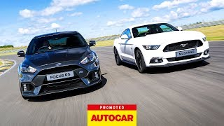 Download Promoted: Ford Focus RS vs Mustang Video