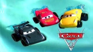 Download CARS 3 Splash Racers Jackson Storm, Cruz Ramirez McQueen Disney Pixar Cars 3 Hydro Wheels Water Toys Video