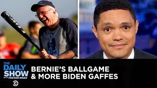 Download Bernie Sanders Hits the Ballpark & Joe Biden Serves Up More Gaffes | The Daily Show Video