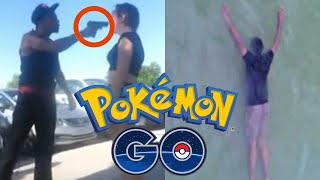 Download Top 5 Craziest POKEMON GO Moments! (Shootings, Murder, Robbery) Video