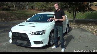 Download Review: 2013 Mitsubishi Lancer Evolution X GSR Video