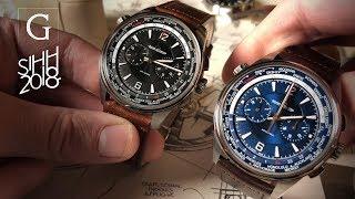 Download EXCLUSIVE   SIHH 2018: Jaeger-LeCoultre Polaris & Polaris Chronograph Full Collection Deep Dive! Video