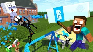 Download Monster School : BOTTLE FLIP Challenge APOCALYPSE - Minecraft Animation Video