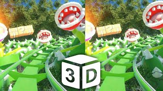 Download 🔴 Mario VR 3D Roller Coaster VR Split Screen for BOX 3D not 360 VR Virtual Reality 3D SBS Video