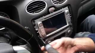 Download Android Multimedia GPS System Unbox and install into a Ford Focus MK2 2 II Video