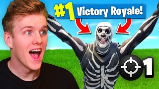 Download Reacting To My *FIRST* Victory Royale In Fortnite Battle Royale! Video