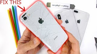 Download iPhone Back Glass Fix The 'EASY' Way - Plus Clear Mod Video