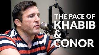 Download Chael Sonnen describes crazy Khabib Nurmagomedov private training session. Video