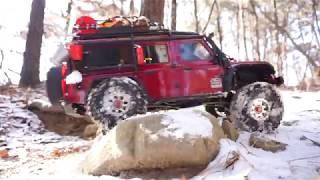 Download Traxxas TRX-4 Defender - Snowy mountain Video