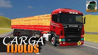 Download Grand Truck Simulator - CARGA DE TIJOLOS E SKIN SCANIA Video
