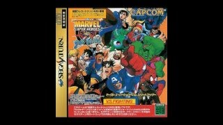 Download Marvel Super Heroes vs. Street Fighter Review for the Sega Saturn Video