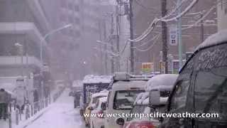 Download Tokyo Snow Storm 14 January 2013 東京雪嵐 Video