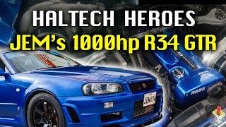 Download JEM's 1000hp, 9second, street legal R34 GTR - Haltech Heroes Video