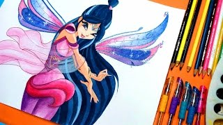 Download ✿ how to draw winx club musa bloomix✿speedpainting Video