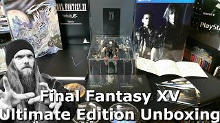 Download Final Fantasy XV Ultimate Collector's Edition Unboxing - AlphaOmegaSin Video